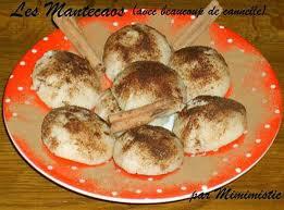recette de les mantecaos avec beaucoup de cannelle