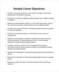 What Is A Good Objective Statement For Resume Carrier Objective Coinfetti Co