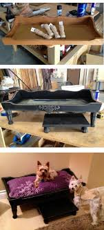grooming table top material diy dog bed started with the top of a baby changing table from