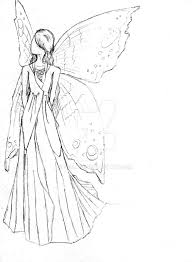 fairy dress sketch by suilaid on deviantart