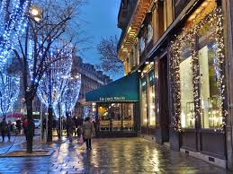 Christmas Trees In Paris Tripping To Paris For Christmas Love Booklet