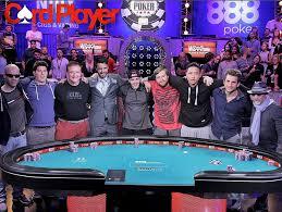 wsop final table the nine the 2015 world series of poker november nine is set youtube