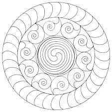 coloring pages easy mandalas color easy mandalas coloring
