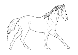 65 free horse lineart cliparting com