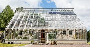 gorgeous solar powered greenhouse home in sweden hits the market