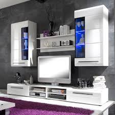 M El R En Wohnzimmer Stunning Moderner Wohnzimmerschrank Mit Glastüren Und Led