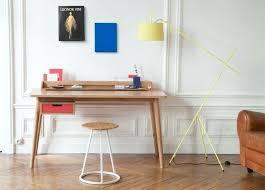 bureau en bois moderne meuble secretaire design bois trendy e la s invite cleanemailsfor me