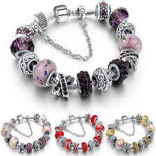 crystal glass bracelet images Alphabet deal bracelet crystal glass bead bracelets jpg