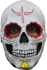 Day Of The Dead Mask Day Of The Dead Catrina Sugar Skull Women U0027s Latex Mask