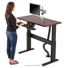 Stand Up Computer Desk Adjustable Magnificent Adjustable Computer Desk Corner Standing Computer Desk