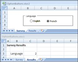 select answers with excel option buttons contextures blog