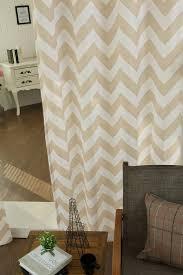 Grommet Chevron Curtains Best Home Fashion Inc Velvet Chevron Printed Grommet Curtains