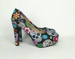Skull High Heels Hey I Found This Really Awesome Etsy Listing At Https Www Etsy