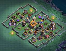 Builder Designs by 15 Best Builder Hall Level 5 Bases Anti 2 Stars Coc Giants