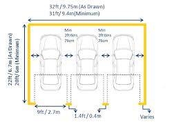 single garage dimensions standard garage dimensions and measurements by length width and