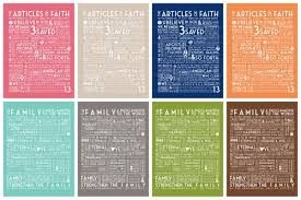 family proclamation the family a proclamation to the world articles of faith simply