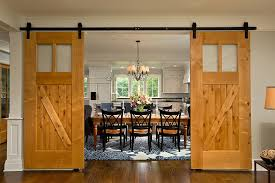 barn door dining table 25 diverse dining rooms with sliding barn doors
