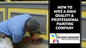 painting companies in orlando how to hire a professional painting company
