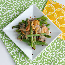 light healthy green bean casserole