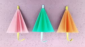 paper unbrella easy making instructions diy paper craft youtube