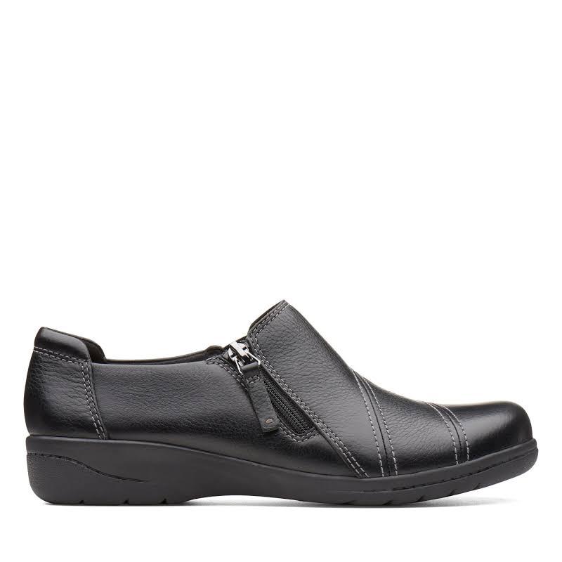 Clarks CHEYN CLAY 26136741 Black Tumble Leather