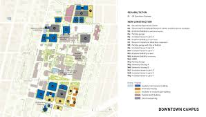Ub North Campus Map University At Buffalo Comprehensive Physical Plan Projects