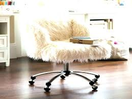 fur chair cover fur desk chair desk chair cover several images on fuzzy office