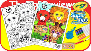 mcdonald u0027s happy meal teenie beanie boo u0027s coloring crayola