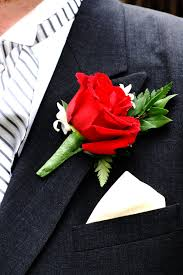 Red Rose Boutonniere Red Roses With Stephanotis U2013 Mushka Bushka