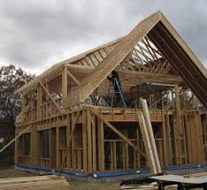 Roof Framing Pictures by Tji Roof Framing U0026 The Design Incorporates A Very Large Peaked