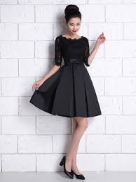 cocktail dresses a line half sleeve lace cocktail dress tbdress
