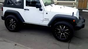 jeep white with black rims 877 544 8473 20