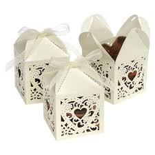 favor boxes 25ct square die cut wedding favor boxes target