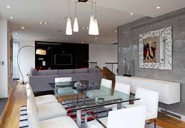 Modern Urban Chic Penthouse Apartment Interior Design With Pendant - Modern chic interior design