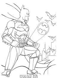 batman coloring book villains batman color cartoon