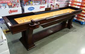 9 Foot Shuffleboard Table by Costco Well Universal Shuffleboard Table 449 99 Frugal Hotspot