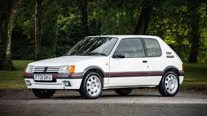 peugeot old models peugeot 205 gti raises eyebrows at silverstone classic sale