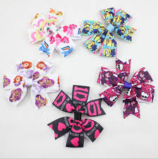sofia the ribbon 5 designs mix ribbon sofia princess and pony hair bows for
