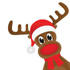 christmas reindeer royalty free rudolph the nosed reindeer clip vector