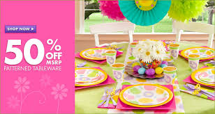 Easter Decorations Retail by Decorate A Easter Spring Party Table Gustitosmios