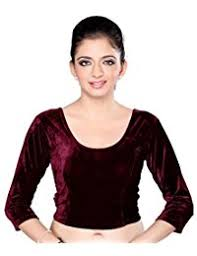 velvet blouse amazon in velvet saree blouses ethnic wear clothing