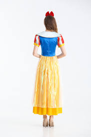 dresses for halloween snow white cosplay fancy costume dress for halloween party