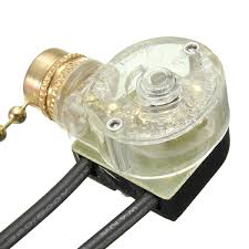 fan light pull chain replacement convenient latching action ceiling fan two wires light l pull