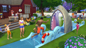 Backyard Connect Four by The Sims Have Fun In The Sun With The Sims 4 Backyard Stuff