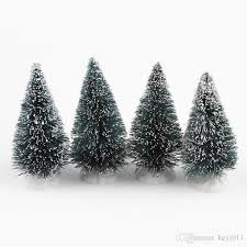 Mini Decorated Christmas Trees New Arrival Christmas Tree A Small Pine Tree Placed In The