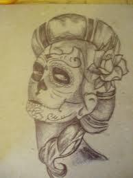 death skull drawing mexican death skull tattoo latin skull