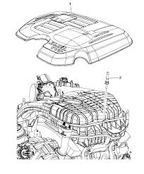 Dodge Challenger Dimensions - engine covers u0026 related parts for 2015 dodge challenger