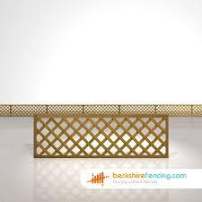 Diamond Trellis Panels Rectangle Heavy Diamond Trellis Fence Panels 2ft X 6ft Brown