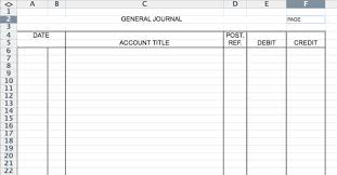 Journal Entry Template Excel Spreadsheet Template Accounting Ledger Journal Entries Template