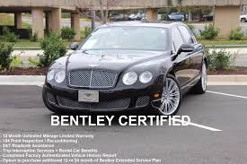 bentley factory 2011 bentley continental flying spur stock 6nc002073a for sale